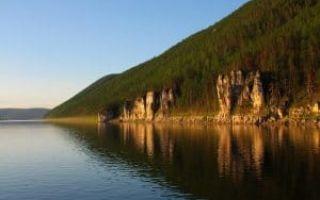 Самая длинная река в России