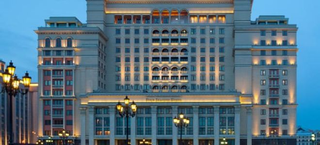 Самый дорогой отель в Москве