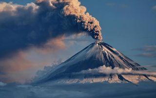 Крупнейшие действующие вулканы России