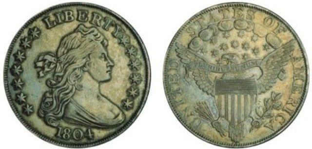 Серебряный доллар I класса (коллекция Квеллера)