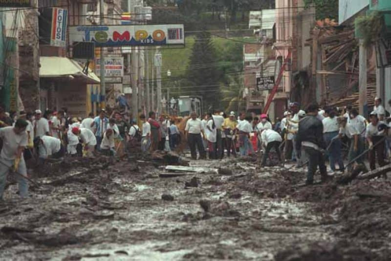 Митч - 1998 год Сальвадор