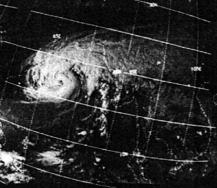 Тайфун Нина в Китае 1975 года