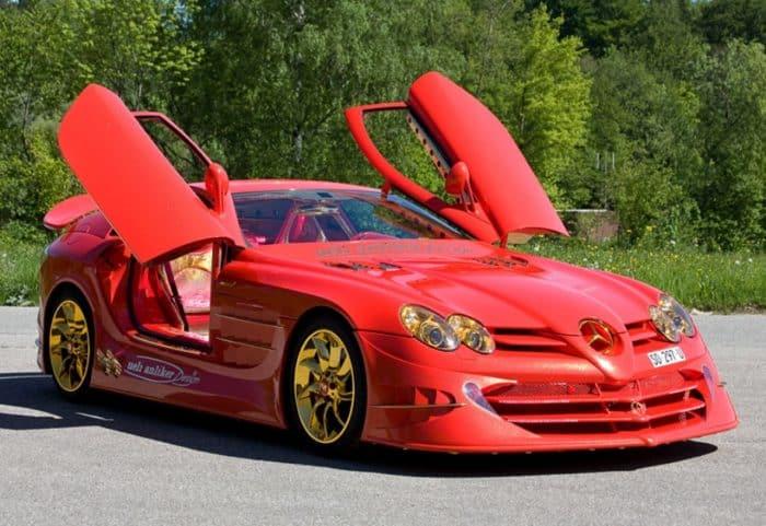 Mercedes-Benz SLR McLaren 999 Red Gold Dream