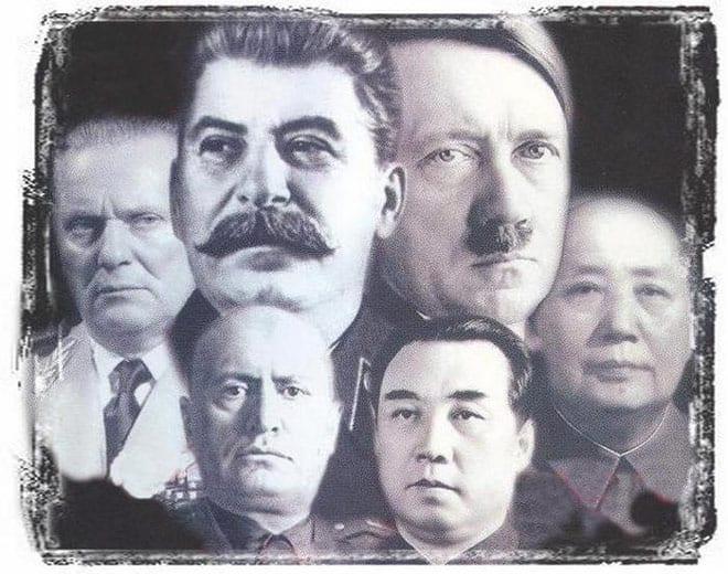 Диктаторы XX века