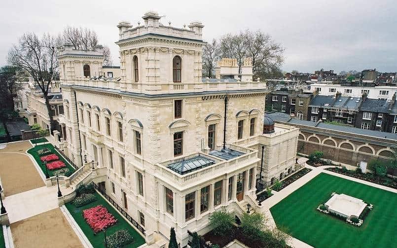 Дом в Кенсингтонском Дворцовом Саду