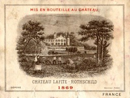 Chateau Lafite-Rothschild 1869