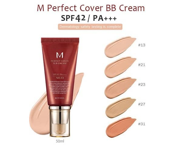 MISSHA M Perfect Cover BB Cream SPF45