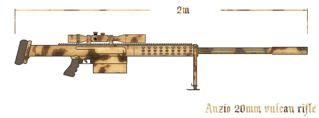 Anzio 20MM rifle