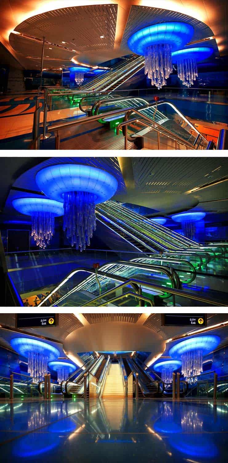 Станция Марина в Дубаи