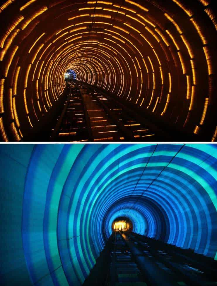 фуникулер Bund Sightseeing в Шанхае