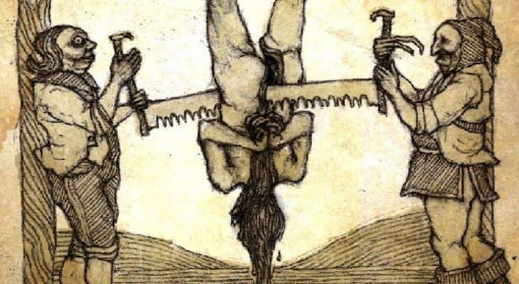 Пытка пилой