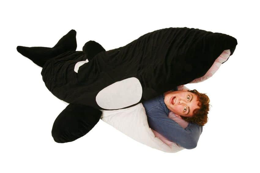 Хищный спальный мешок