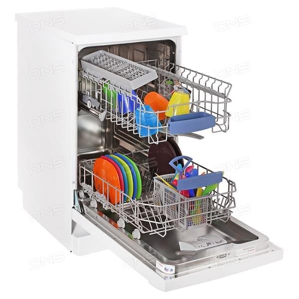 Узкая посудомойка