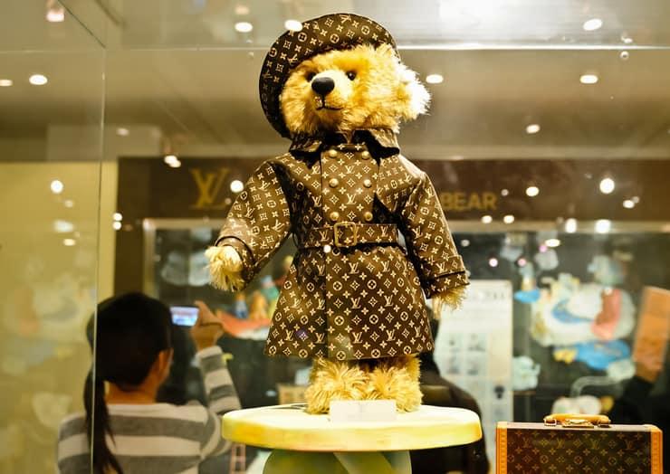 Мишка Тедди в Louis Vuitton