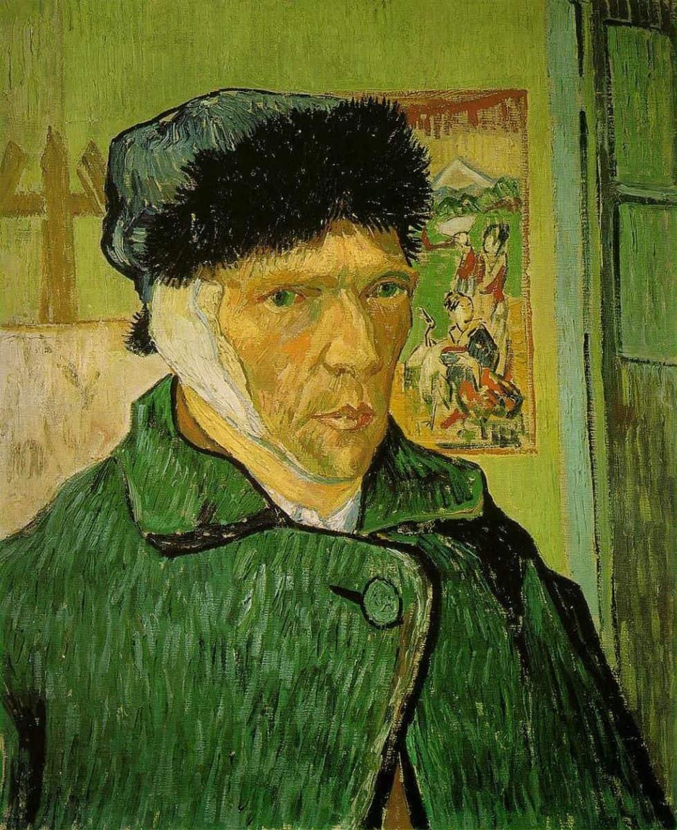 Автопортрет с перевязанным ухом