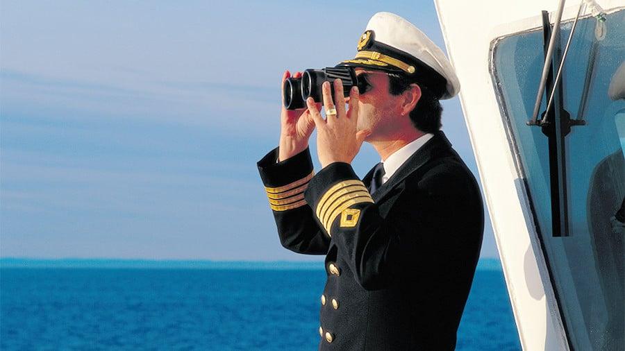 Капитан океанского корабля