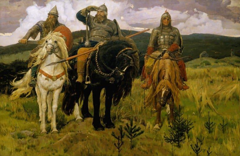 «Три богатыря» В.Васнецова