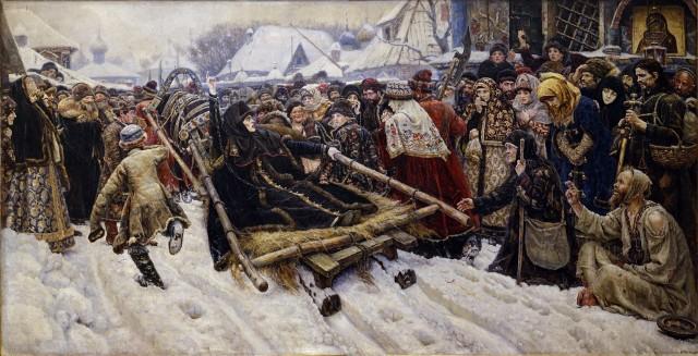 «Боярыня Морозова» В. Сурикова