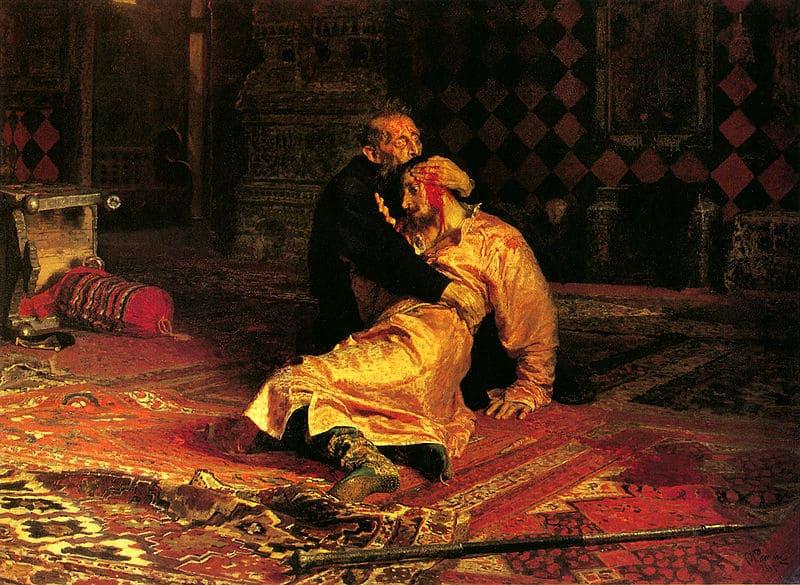 «Иван Грозный убивает своего сына» И. Репина