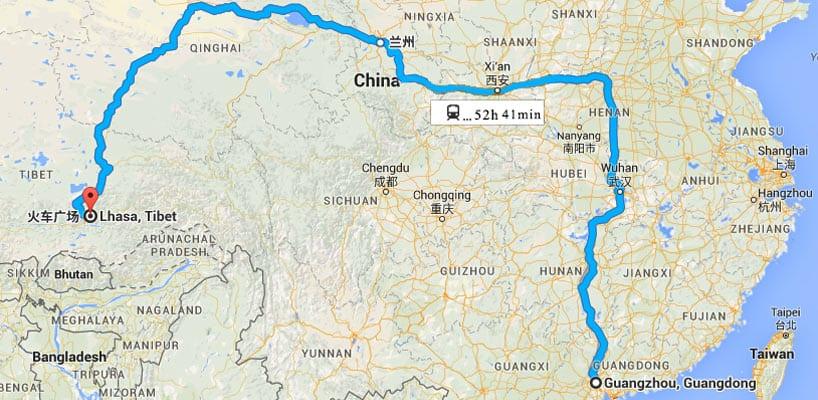 от Лхаса до Гуанчжоу